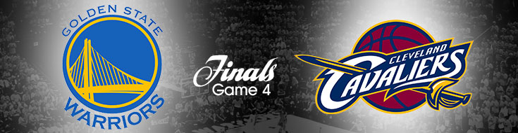 Warriors vs. Cavs NBA Finals Game 4