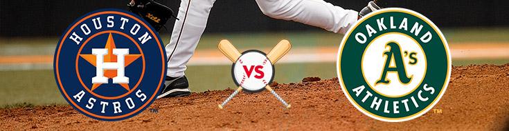 Oakland Athletics vs. Houston Astros Betting Odds