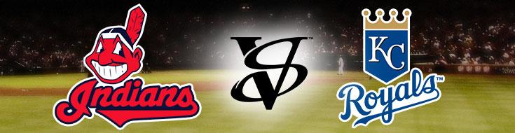 Cleveland Indians against Kansas City Royals