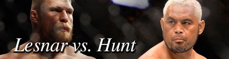 Brock Lesnar vs. Mark Hunt UFC 200 Odds