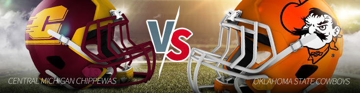 Central Michigan Chippewas vs. Oklahoma State Cowboys Odds and Game Preview