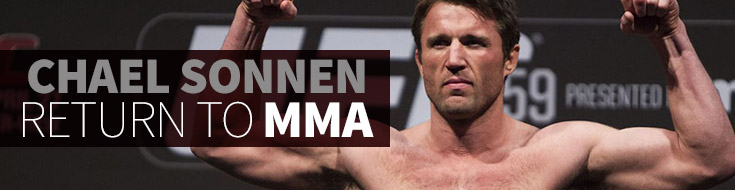 Chael Sonnen return to MMA