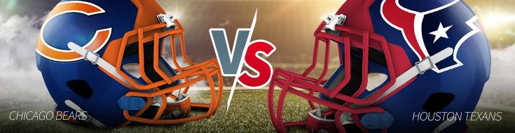 Chicago Bears versus Houston Texans NFL Week 1 Odds