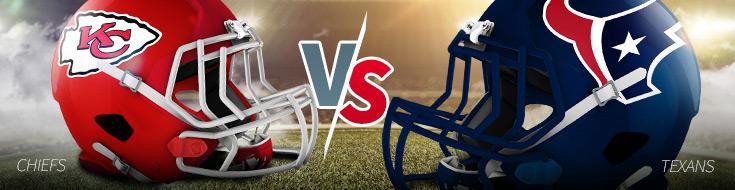 Kansas City Chiefs vs. Houston Texans Odds Week 2