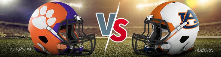 Clemson vs. Auburn College Football Odds - Week 1