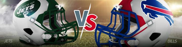 Jets vs. Bills Odds for Thursday Night Football