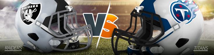Raiders vs. Titans NFL Week 3 Betting Preview