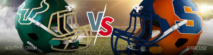 South Florida vs. Syracuse Odds