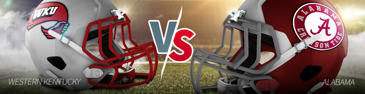 Western Kentucky vs. Alabama Odds Game Preview