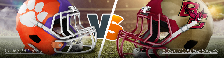 Clemson Tigers vs. Boston College Eagles Odds Week 5