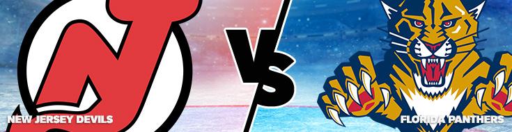 NHL 2016-17 Season New Jersey Devils vs. Florida Panthers
