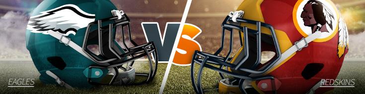NFL Week 6 Eagles vs. Redskins Odds