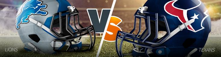 Detroit Lions vs. Houston Texans Week 8 Odds Preview