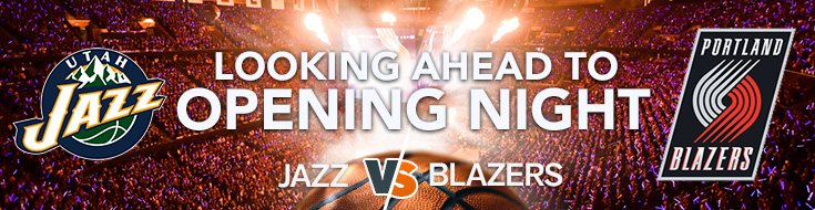 NBA Betting opening Game Jazz vs. Blazers