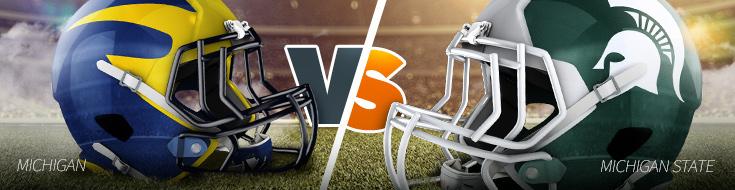 Michigan Wolverines vs. Michigan State Spartans - Saturday, October 29th at Spartan Stadium
