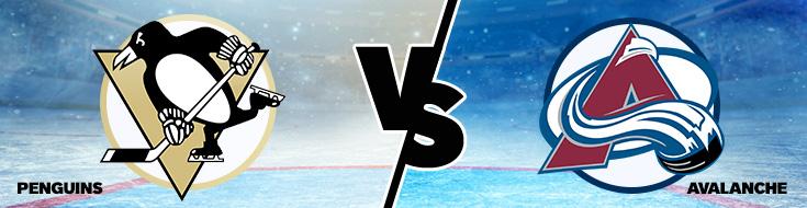 NHL Betting Penguins vs Avalanche odds