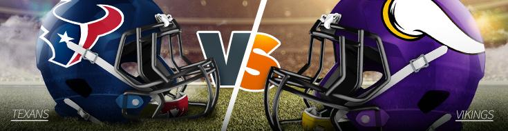 Houston Texans vs. Minnesota Vikings Week 5 Odds