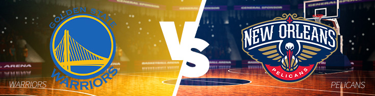 Golden State Warriors vs. New Orleans Pelicans on Friday, October 28th