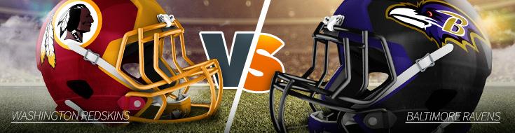 NFL Week 5 Washington Redskins vs. Baltimore Ravens Odds