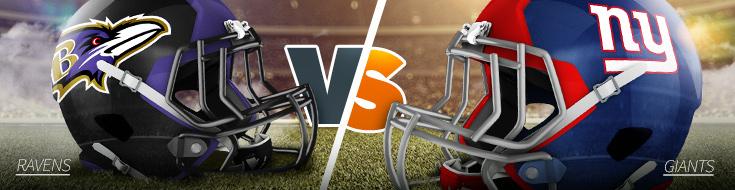 NFL Week 6 Baltimore Ravens vs. New York Giants Betting