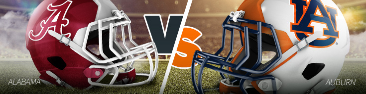 Alabama vs Auburn College Football Betting