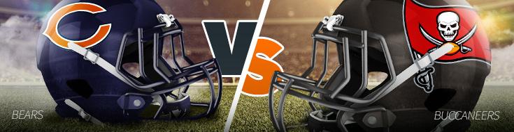 Chicago Bears vs. Tampa Bay Buccaneers NFL Week 10 Betting