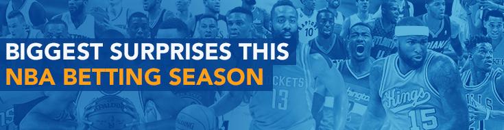 Biggest Surprises This NBA Betting Season