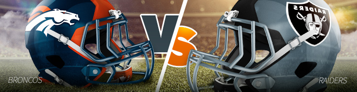 NFL Week 9 Broncos vs Raiders