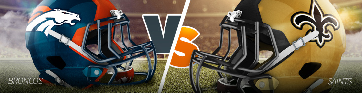 New Orleans Saints host Denver Broncos NFL Week 10
