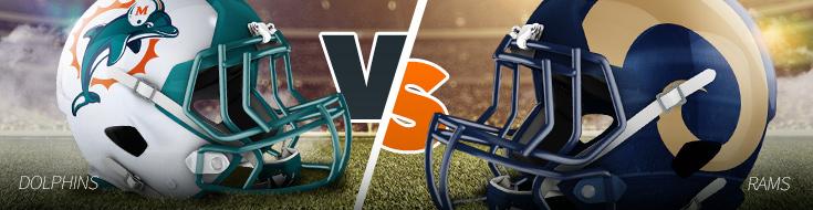 Miami Dolphins versus LA Rams