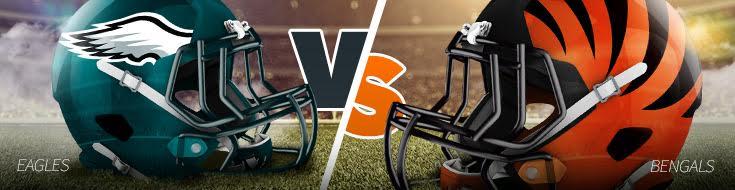 Eagles vs Bengals Odds for Week 13