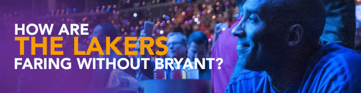 How Are the Lakers Faring Without Kobe Bryant