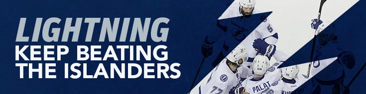 Lightning Keep Beating the Islanders