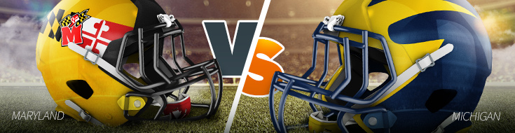Maryland vs. Michigan College Football Betting