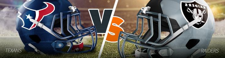 Houston Texans vs. Okland Raiders