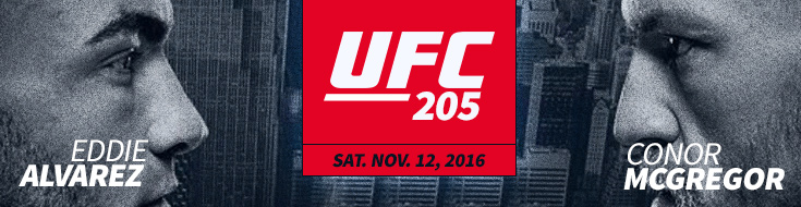 UFC 205 Betting Conor McGregor vs. Eddie Alvarez