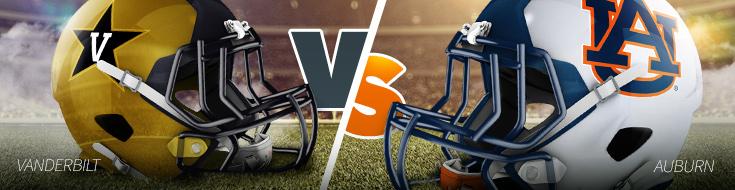 Vanderbilt vs Auburn NCAAF Betting