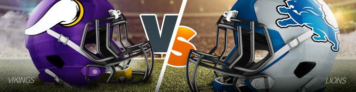 Vikings vs Lions NFL Week 9 Betting