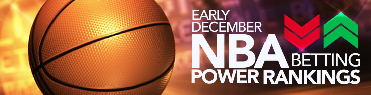 Early December NBA Betting Power Rankings