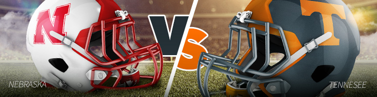 Nebraska Cornhuskers versus Tennessee Volunteers Odds - Music City Bowl