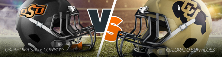 Alamo Bowl - Oklahoma State Cowboys vs. Colorado Buffaloes Odds