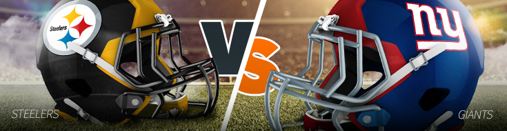Bet on NFL Week 13 Steelers vs Giants