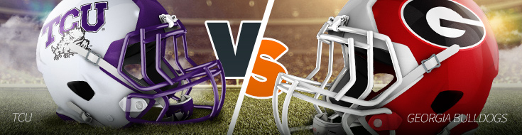 TCU vs Georgia - College Football Bowl Games Betting