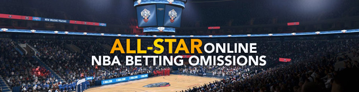 All-Star Online NBA Betting Omissions
