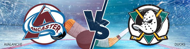 Avalanche vs Ducks