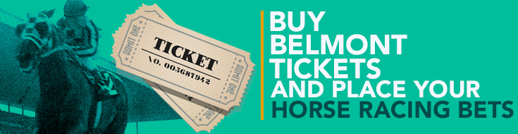 Belmont tickets and place your horse racing bets