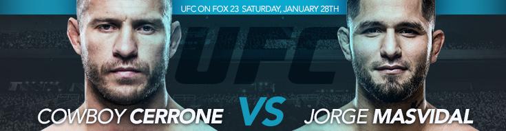 Cerrone vs. Masvidal betting odds Preview