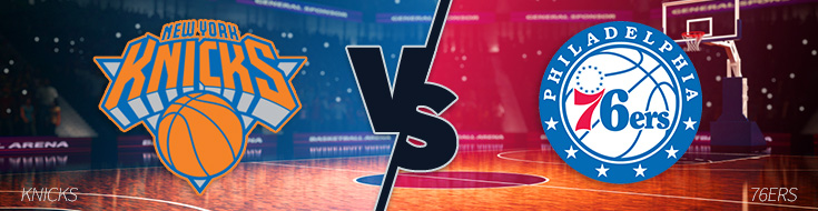 Knicks vs 76ers Betting odds Preview