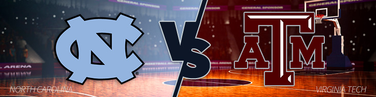 North Carolina vs Virginia Tech Odds Thursday, January 26th