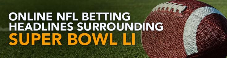 Super Bowl LI - Patriots vs Falcons betting Odds